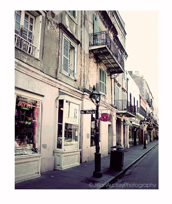 st. peter street new orleans | St Peter Street Photography / New Orleans Photograph / 8x10 / French ...