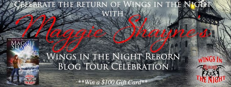 Viviana Enchantress of Books: Wings In The Night Reborn Blog Tour, Giveaway & Author Interview with Maggie Shayne