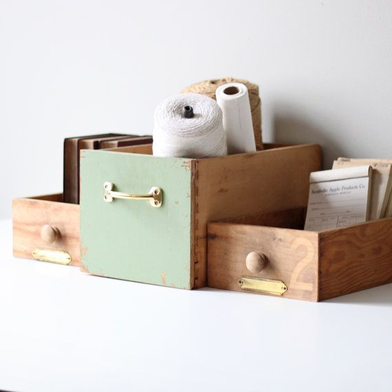 so cute! For a desk organization station