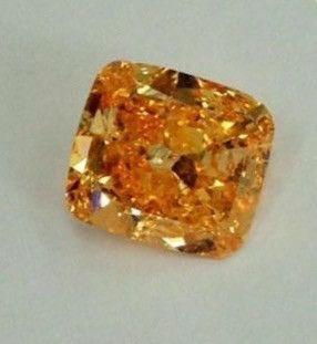 5 carat FANCYS Color Type | A Vivid Orange Diamond