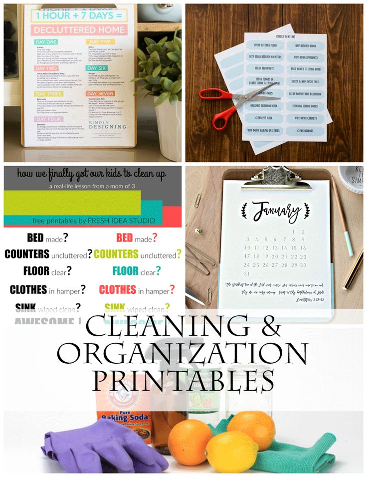 You won't want to miss this! The Ultimate Cleaning and Organization Resource: Tons of cleaning and organization printables for your Laundry Room, Bathroom, Kitchen, Pantry, Linen Closet and More! www.settingforfour.com