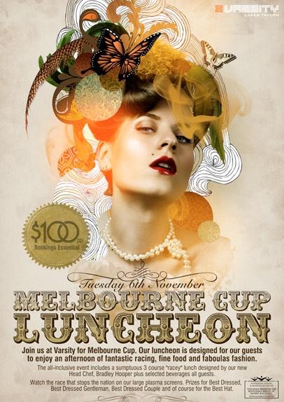 Melbourne Cup promo poster by Copirite