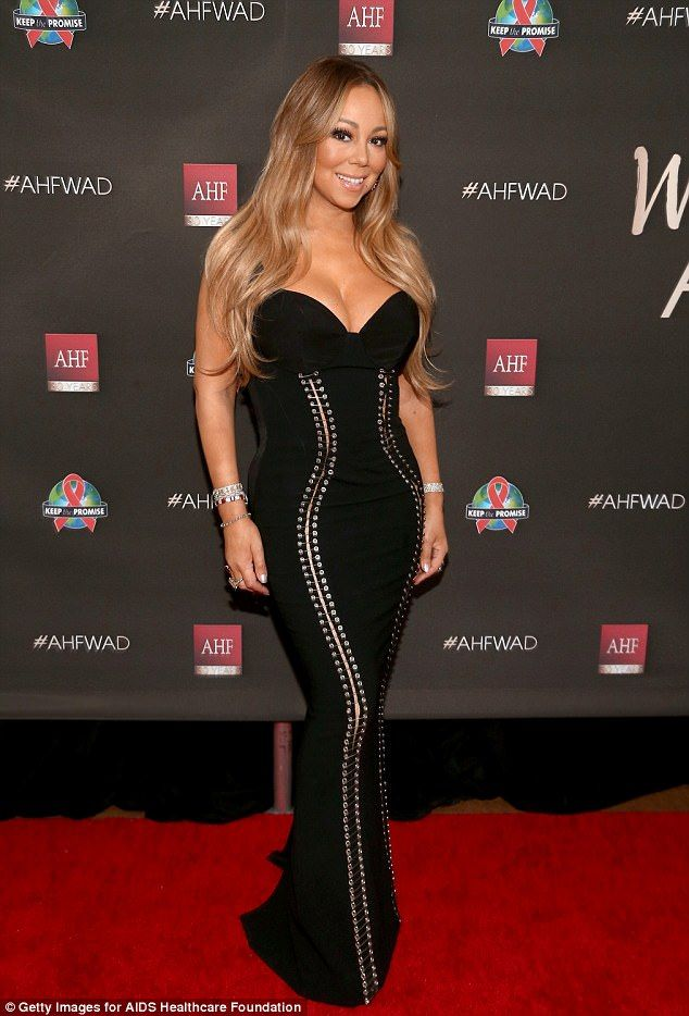 Image result for Mariah Carey and her brand new physique