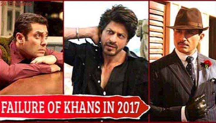 Failure Of Khans In 2017 | Shah Rukh Khan, Salman Khan & Saif Ali Khan