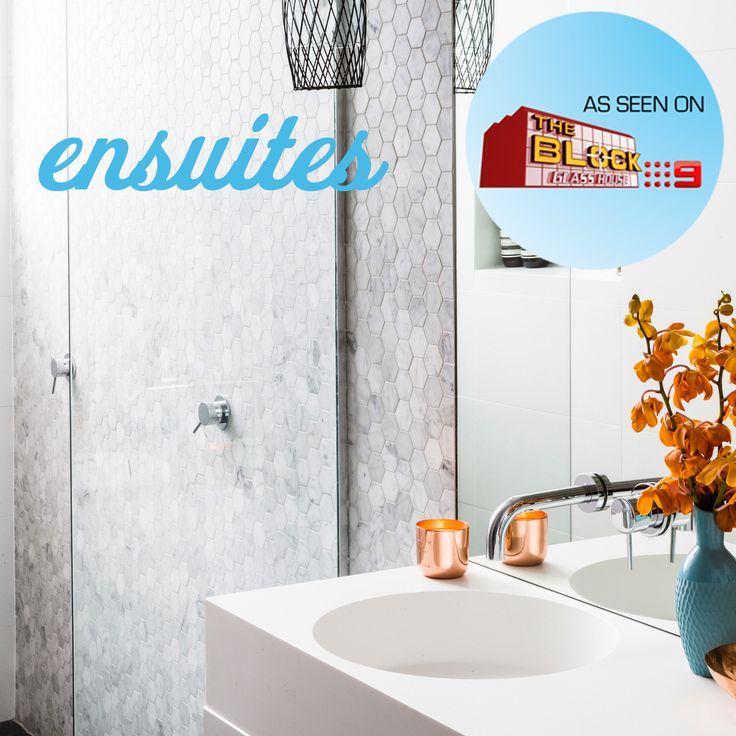Darren And Deanne just missed out with their 'breathtaking' ensuite, which included Metropol Strong Grey, Mosaic Carrara Hexagon and Hotwire undertile heating from Beaumont Tiles. Click here for the full en-suite rundown: http://bit.ly/bt-ensuite