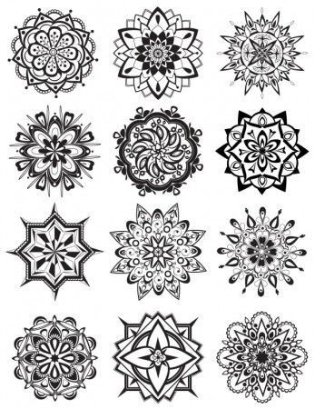 Mandala Coloring Pages - Dabbles & Babbles: