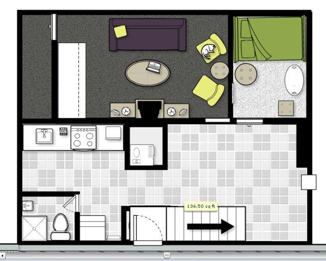 96 best st laurent house images on pinterest kitchen for Basement apartment floor plans