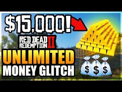 Red Dead Redemption 2: Money/Gold Glitch $50,000 In 5 Minutes