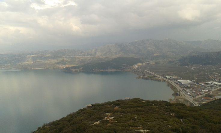 Egridir Lake view in İsparta