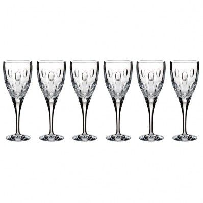 Waterford Imprint Red Wine Glasses set of 6. Available on http://www.standun.com/waterford-imprint-red-wine-glasses.html