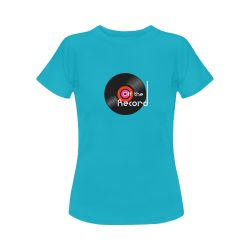 Save 20% Off all products at Alan Hogan's Artsadd webstore now. @artsadd  Discount Coupon Code: ARTSADD  Free Worldwide Shipping. Shown here is 'Off The Record' - Women's Classic T-Shirt design. #artsadd #art #tshirts #stylish #christmasideas #shopping #discountshopping #onlineshoppingdeals #deals #specialoffers #discount #alanhogan #designer #designs #gifts #pressies #stockingfillers