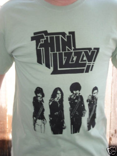 Thin Lizzy Phil Lynott Punk Metal Shirt Small New | eBay