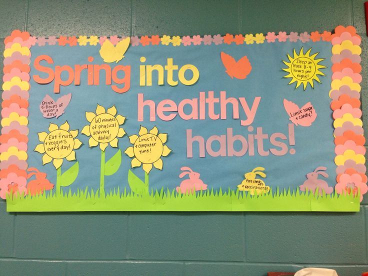School Nurse Health Bulletin Boards - Bing Images