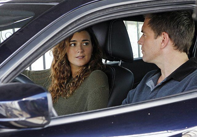 Michael Weatherly and Cote de Pablo in NCIS: Naval Criminal Investigative Service