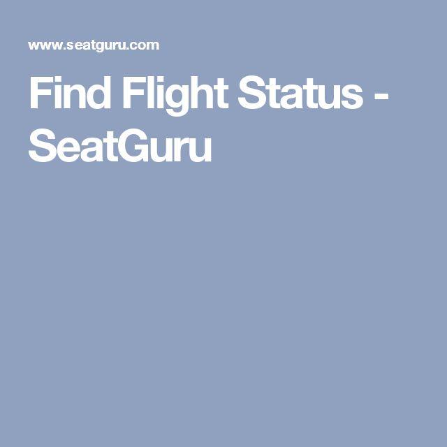 Find Flight Status - SeatGuru