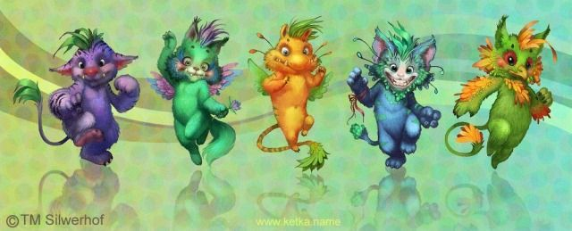 Cute monsters Picture by Maria Trepalina Ketka