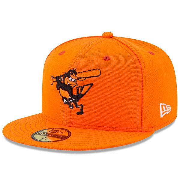 Men's Baltimore Orioles New Era Orange 2017 Players Weekend 59FIFTY Fitted Hat