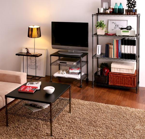 デットスペースをいかす!7畳一人暮らしのオススメインテリア10選 ... コンパクトなインテリアを使用して部屋を広く見せる