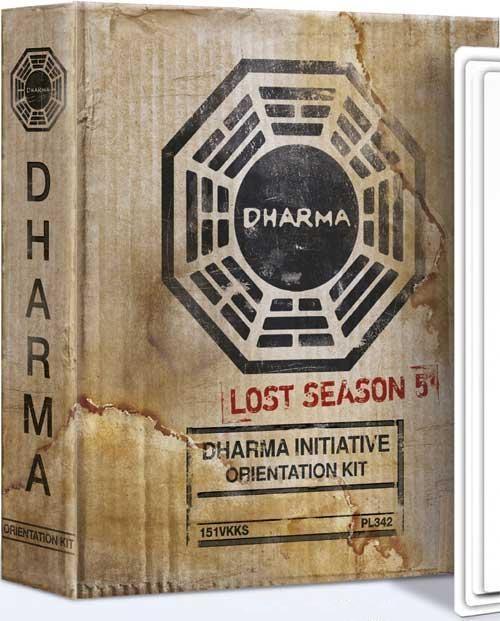 "Lost saison 5 en blu-ray édition ""Dharma Initiative Orientation Kit"""