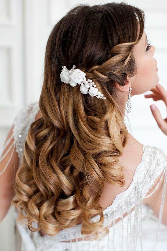 25+ beautiful Wavy wedding hairstyles ideas on Pinterest ...