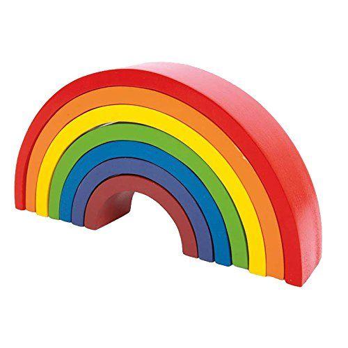Legler Motor Activity Toy Rainbow Preschool Learning Toy