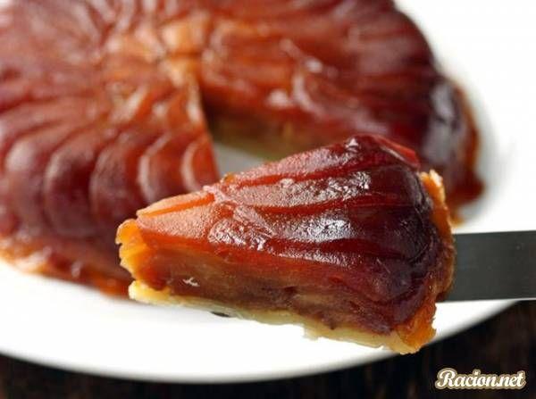 Рецепт Французский яблочный пирог Тарт татен. Приготовление   блюда