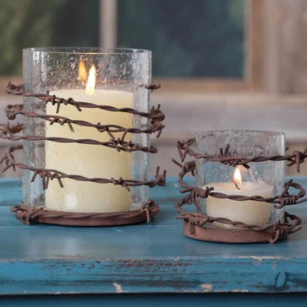 Barbed Wire and Glass Candles                                                                                                                                                      More