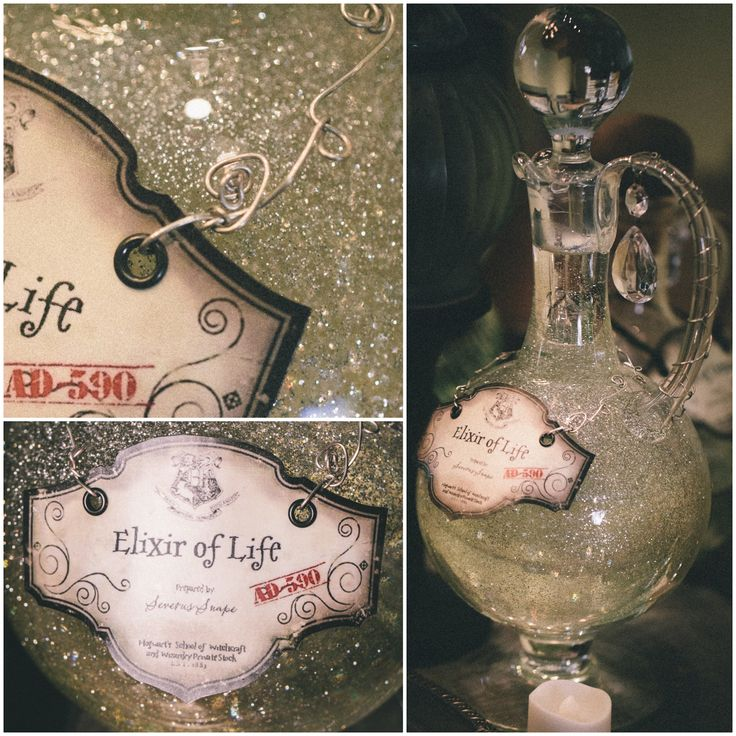 DYI Harry Potter Potions for Halloween: Elixer of Life - Scrapbook.com