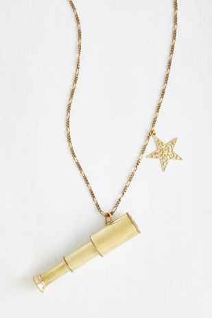 Tiny Telescope with a star Pendant- Super cute! I need this!! | 33 Insanely Clever Pieces Of Double-Duty Jewelry