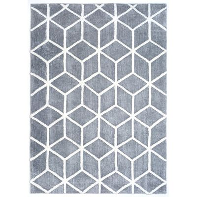 Wildon Home ® Dada Gray & Ivory Tufted Area Rug | AllModern