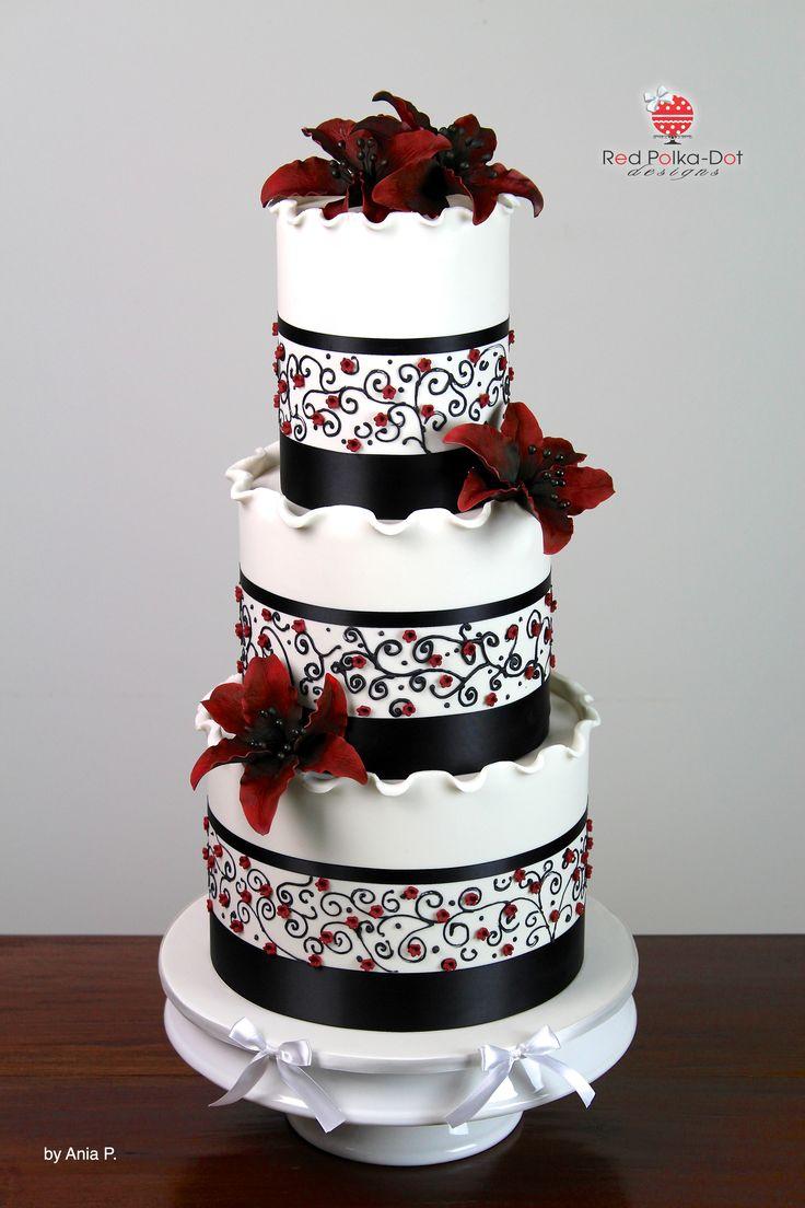 21 best Wedding Cakes images on Pinterest | Beautiful cakes, Cake ...