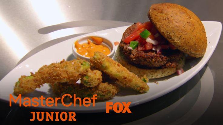 Shayne's Vegan Burger And Avocado Fries Blow The Judges Away | Season 5 ...