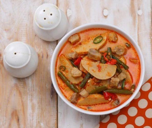 Resep Sajian Tradisional Komplet, Sayur Gurih Rebung, Club Masak