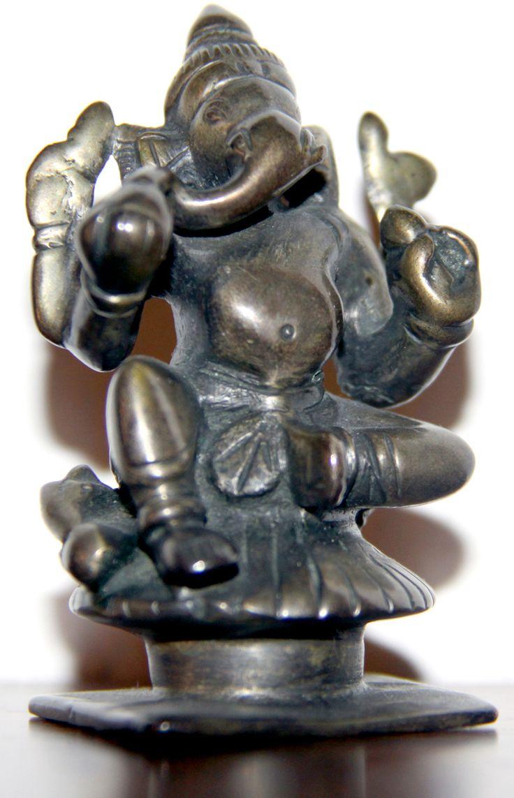 Acquisto del famoso Dio Ganesha fatto nel 1997 a Jaipur (India), capitale del Rajasthan