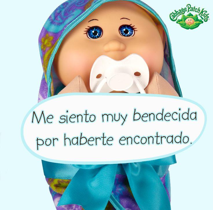 Me siento muy bendecida por haberte encontrado. #cabbagepatch #cabbagepatchkids #sketchers #muñeca #niñas #abrazo #palaciodehierro #liverpool #comercialmexicana #walmart #soriana #sears #chedraui #coppel #juguetron #HEB #newborn