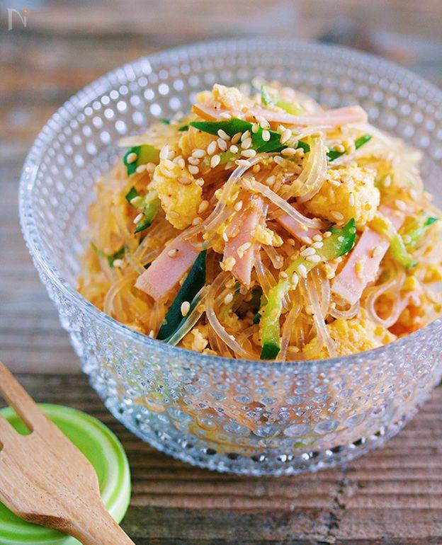 10分で味しみ抜群♪抱えて食べたい♪『春雨のごちそうサラダ』 by Yuu