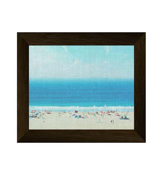 beach print, ocean wall art, sea photography, coastal large poster, beach wall art, printable artwork, wall art prints, instant digital
