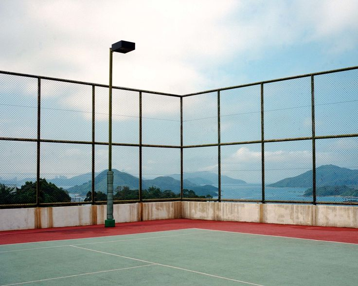 Sarah Pannell's view at the New Territories district in Hong Kong