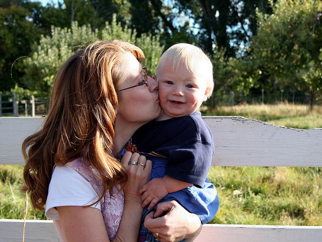 Mom and Colton
