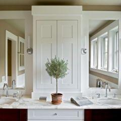 bath- mirrors + cabinets: Cabinets, Bathroom Design, Contemporary Bathrooms, Double Sink, Bathroom Mirror, Vansant Architects, Bathroom Ideas, Master Bathroom, Farmhouse Bathroom