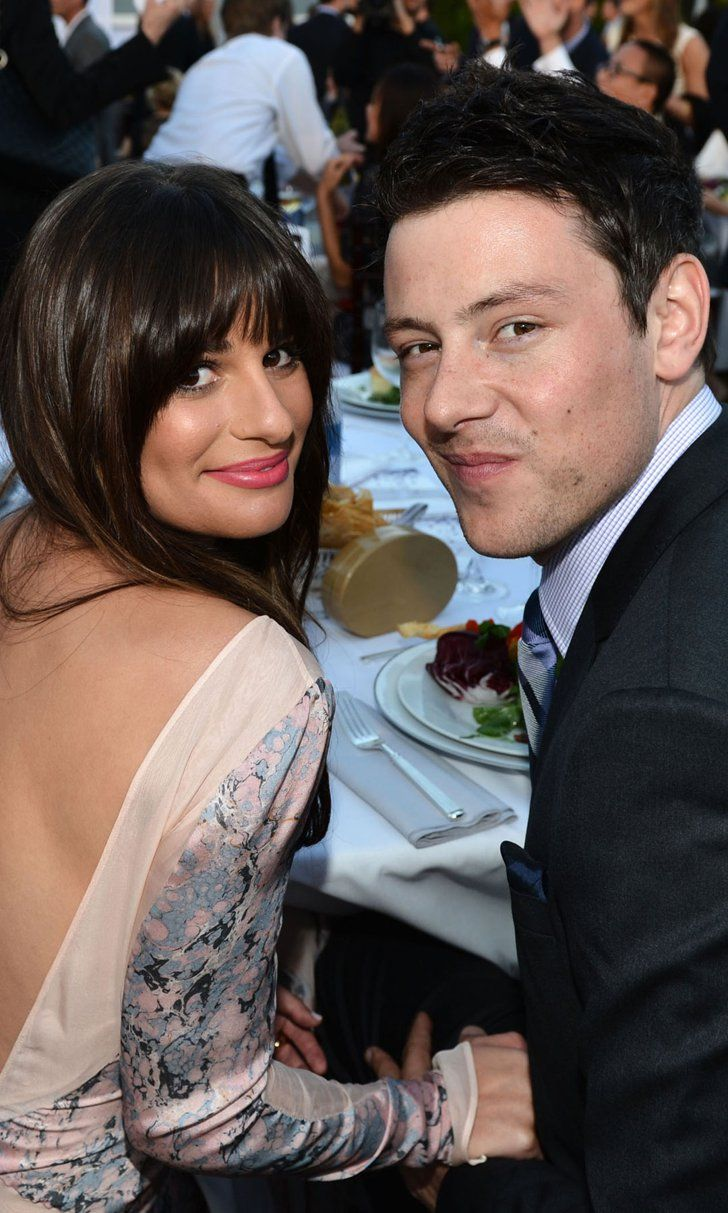 Lea Michele's Glee Throwback With Cory Monteith Will Hit You Right Where It Hurts