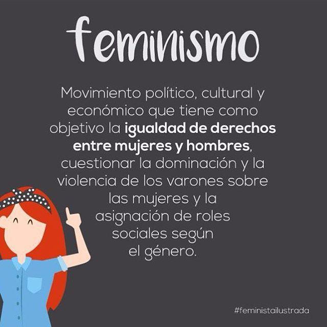 Para todos los que dicen que el machismo y el feminismo son igual de malos...