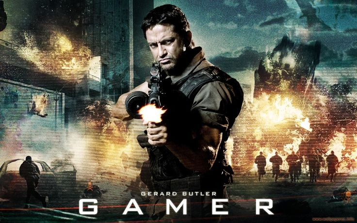 Filme Gamer  Gerard Butler Papel de Parede