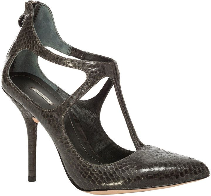 Max Studio tucker - genuine snakeskin heels