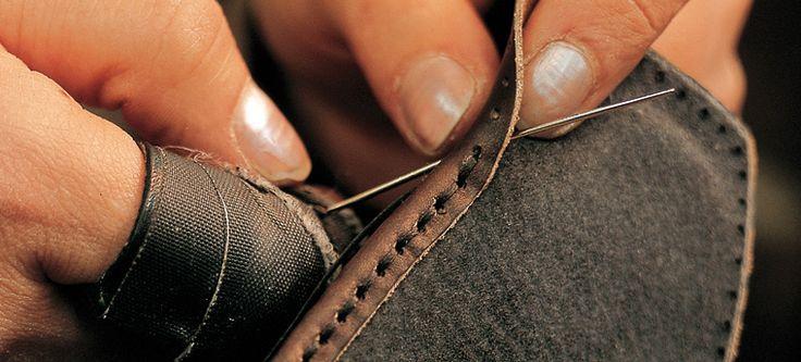 Lavorazione San Crispino per calzature artigianali - San Crispino Technique for handmade footwear