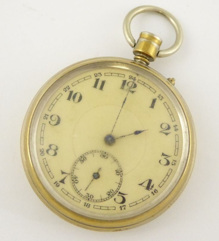 Vintage Brass Mechanical Pocket Watch for Parts Steampunk - The Collectors Bag