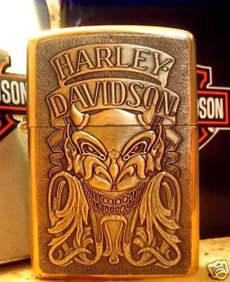 THIS IS A BUY-IT-NOW AUCTION FOR A VERY RARE VINTAGE 1993 HARLEY DAVIDSON ZIPPO LIGHTER IN MINT NEW CONDITION YET 16-YEARS OLD AND HARD TO COME BY! THIS IS IN PERFECT CONDITION.... THE HIGH POLISH BR
