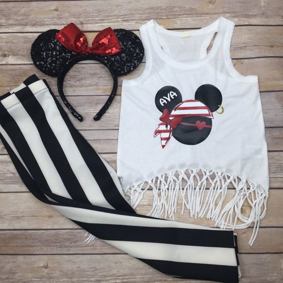 Hey, I found this really awesome Etsy listing at https://www.etsy.com/listing/398527645/minnie-pirate-disney-cruise-personalized