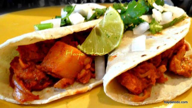Tacos al pastor de pollo mexico lindo y querido - Tacos mexicanos de pollo ...