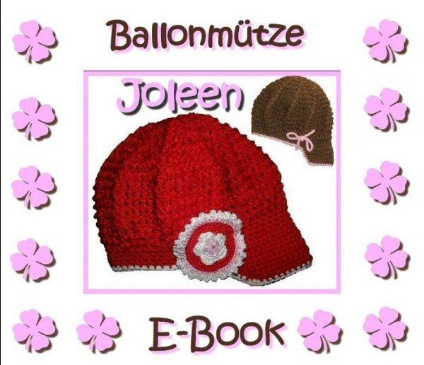 E-Book - Häkelanleitung - Freebook - Ballonmütze Joleen